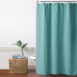 Image of Clipped Circles Shower Curtain