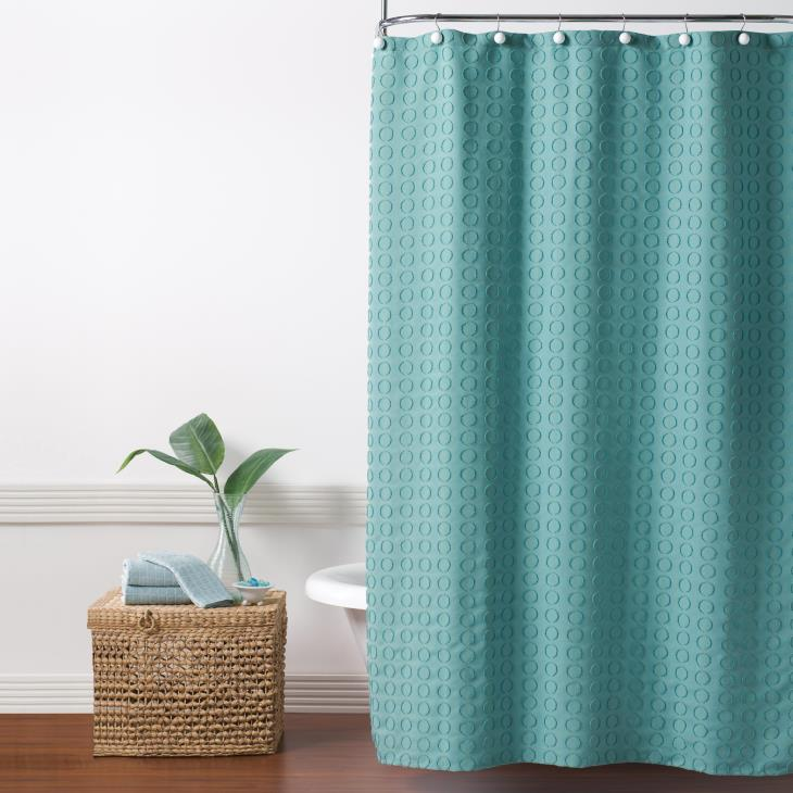 Picture of Clipped Circles Shower Curtain