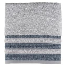 Image of Cubes Stripe Bath Towel