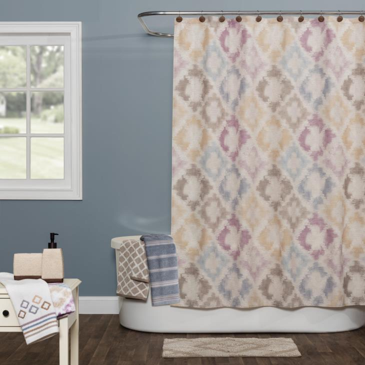Picture of Davidson Fabric Shower Curtain