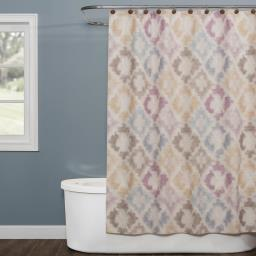 Image of Davidson Fabric Shower Curtain