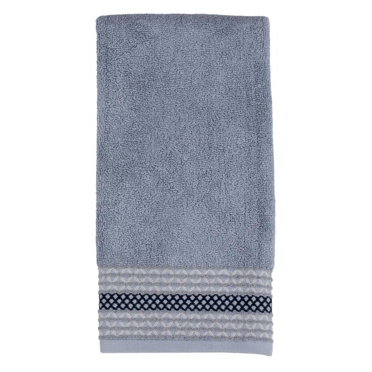 Picture of Cubes Hand Towel in Gray