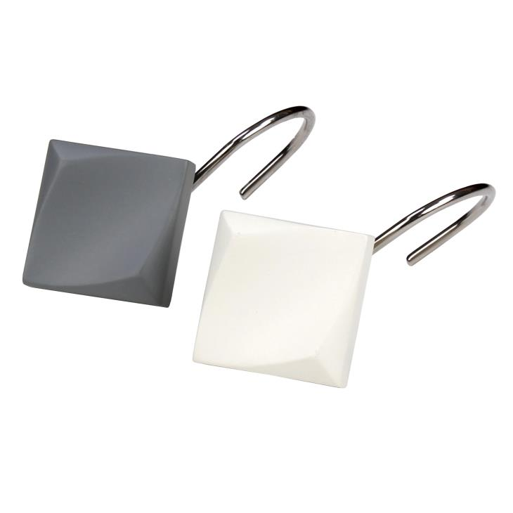 Picture of Cubes Shower Curtain Hooks