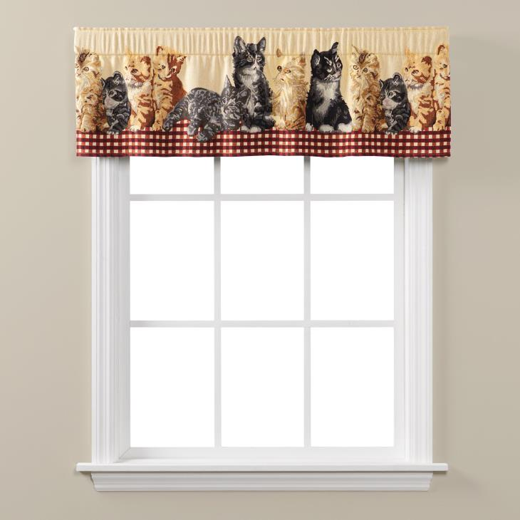 Picture of Feline Friends Valance
