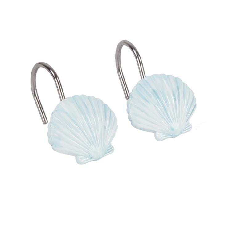 Picture of Seaside Blossoms Shower Curtain Hooks