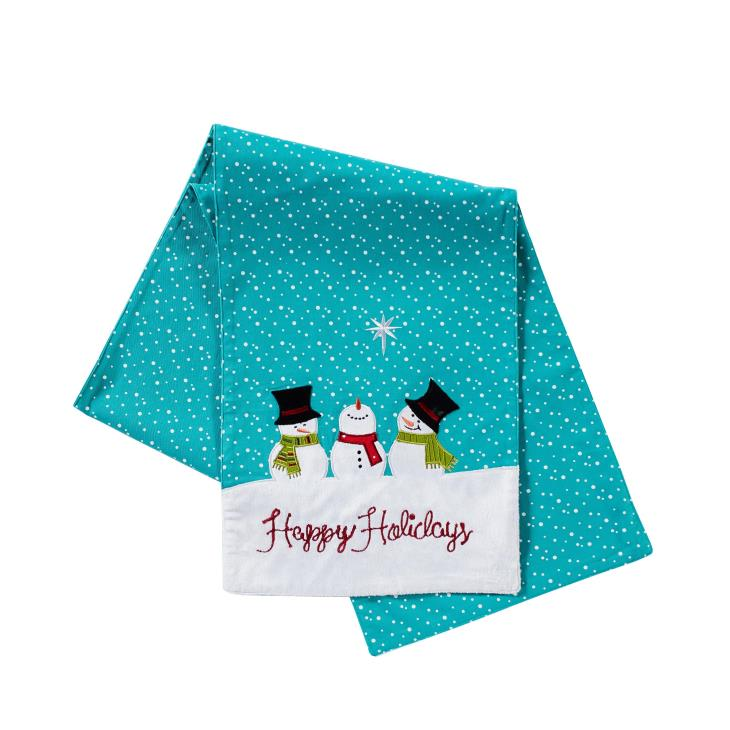 "Picture of Happy Holidays 72"" Table Runner"