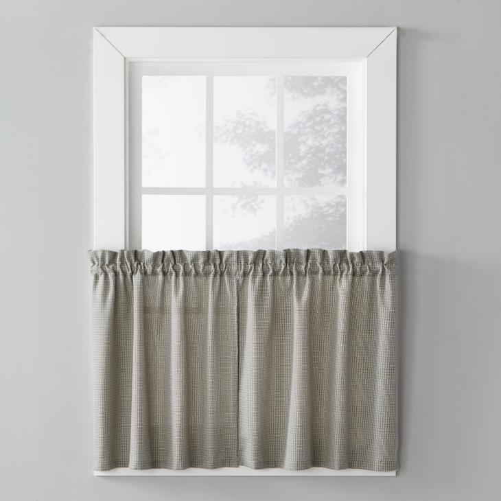 "Picture of Nelson 36"" Window Tier Pair in Black"