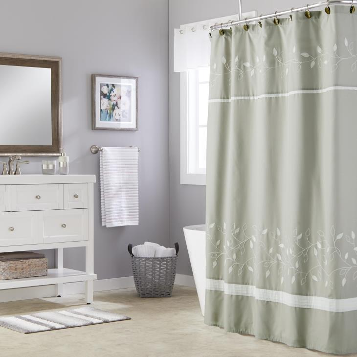 Picture of Kent Fabric Shower Curtain