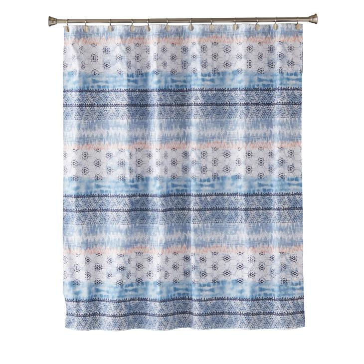 Picture of Balinese Fabric Shower Curtain