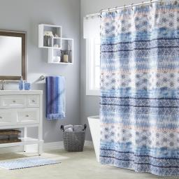 Image of Balinese Fabric Shower Curtain