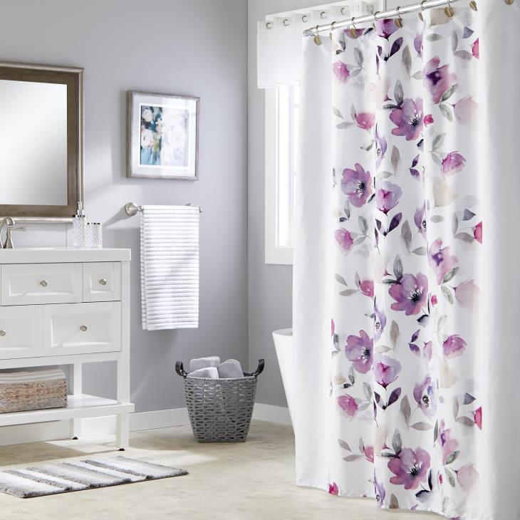 Picture of Garden Mist Fabric Shower Curtain