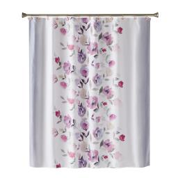 Image of Garden Mist Fabric Shower Curtain