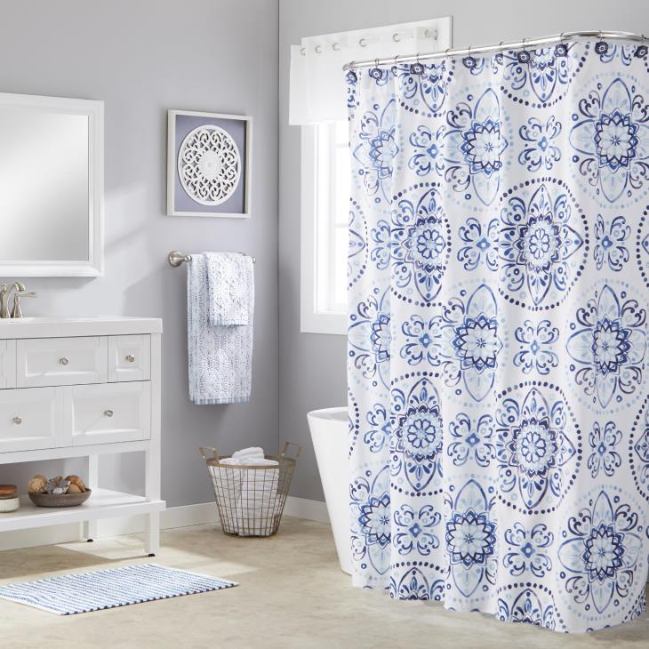 Picture of Kali Fabric Shower Curtain