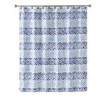 Image of Kali Diamond Fabric Shower Curtain