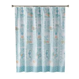 Image of South Seas Fabric Shower Curtain
