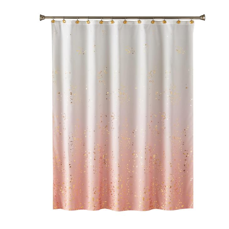 Picture of Splatter Fabric Shower Curtain