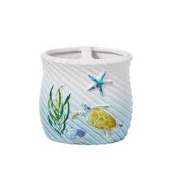 Image of Watercolor Ocean Toothbrush Holder