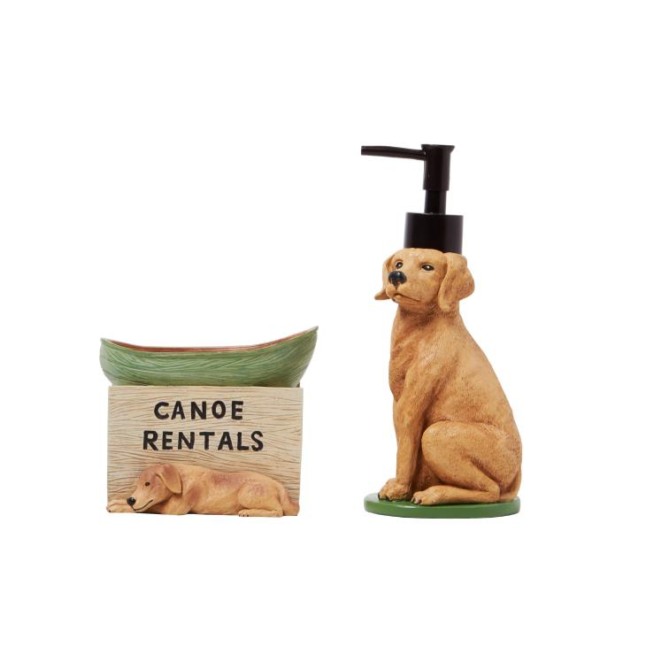 Picture of Adirondack Dogs Lotion/Soap Dispenser