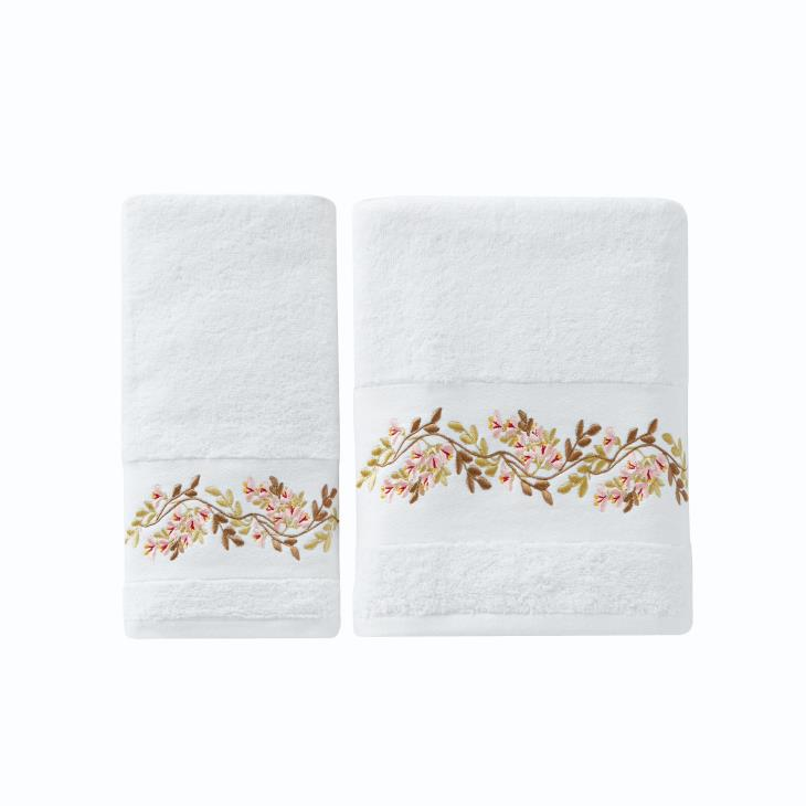 Picture of Misty Floral Bath Towel