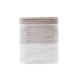 Image of Planet Ombre Bath Towel in Taupe