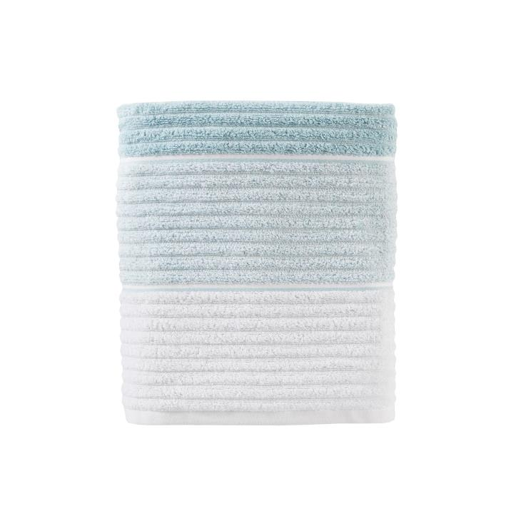 Picture of Planet Ombre Bath Towel in Aqua