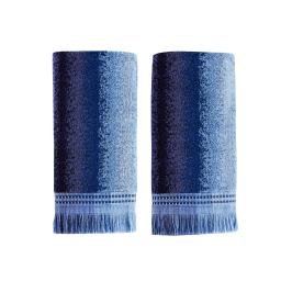 Image of Eckhart Stripe 2-Piece Hand Towel Set