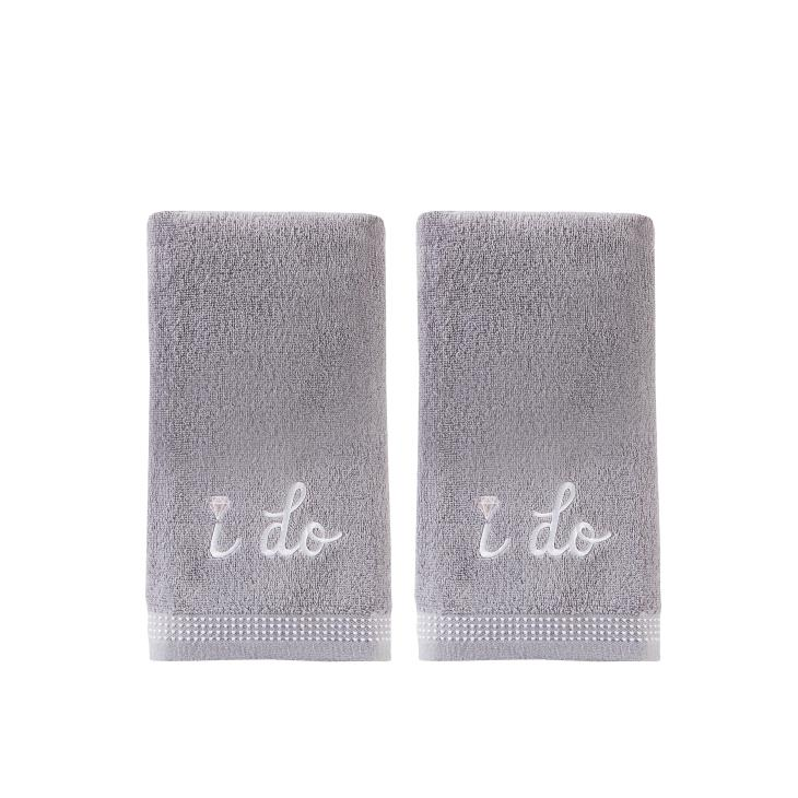 Picture of I Do 2-Piece Hand Towel Set