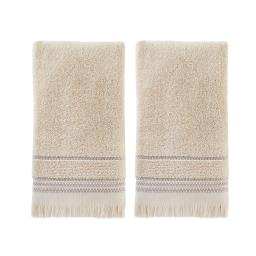 Image of Jude Fringe 2-Piece Hand Towel Set