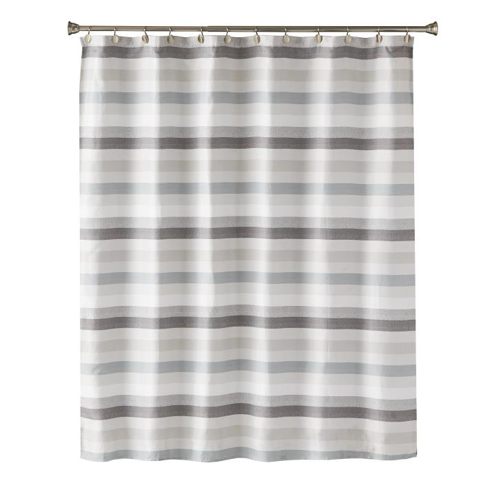 Picture of Westwick Stripe Fabric Shower Curtain