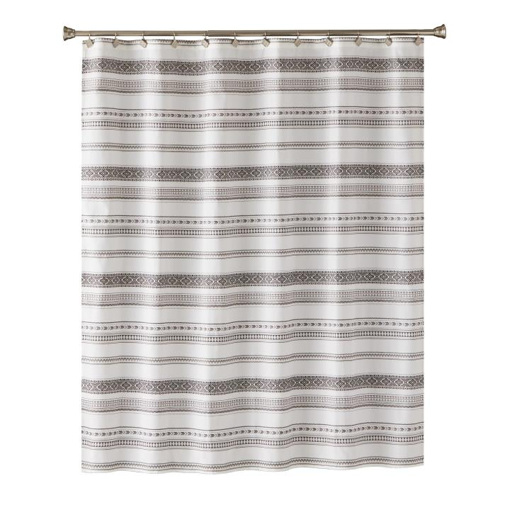 Picture of Geo Fabric Shower Curtain