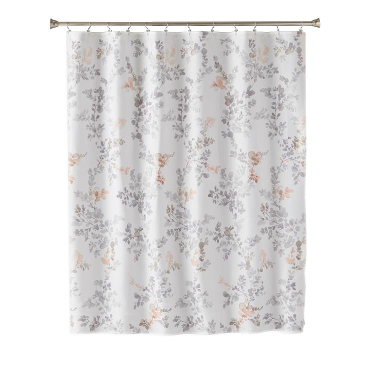Picture of Greenhouse Leaves Fabric Shower Curtain