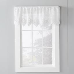 "Image of Birkin 15"" Window Valance in White"