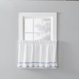 "Image of Delaney 36"" Window Tier Pair in Smoke"