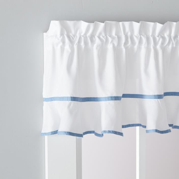 Picture of Delaney In Smoke Valance