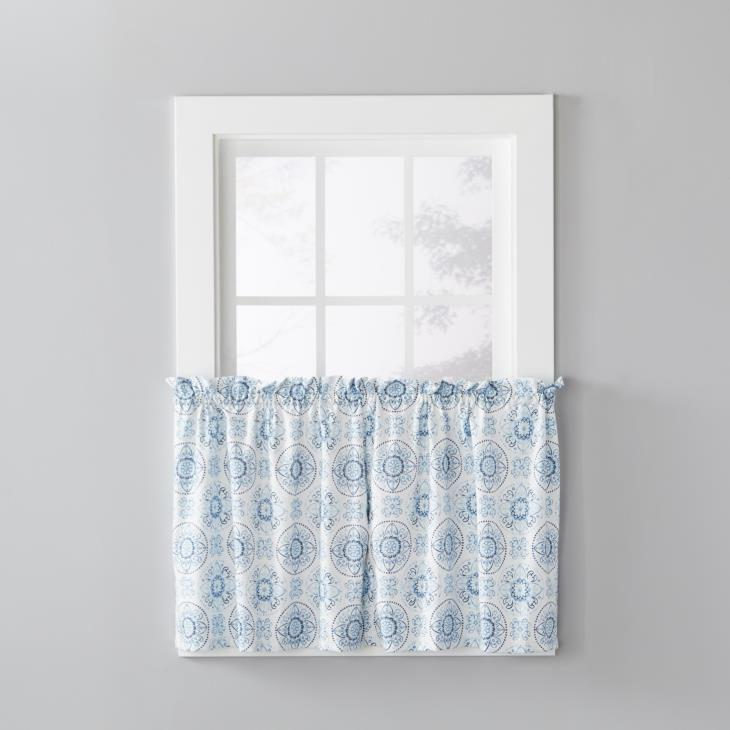 "Picture of Kali 36"" Window Tier Pair in Blue"