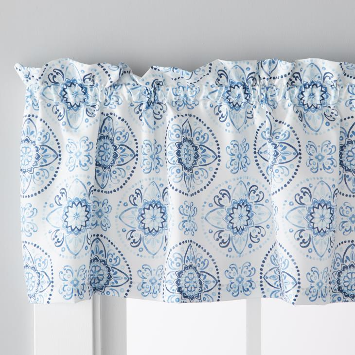 "Picture of Kali 13"" Valance in Blue"