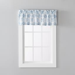 "Image of Kali 13"" Valance in Blue"