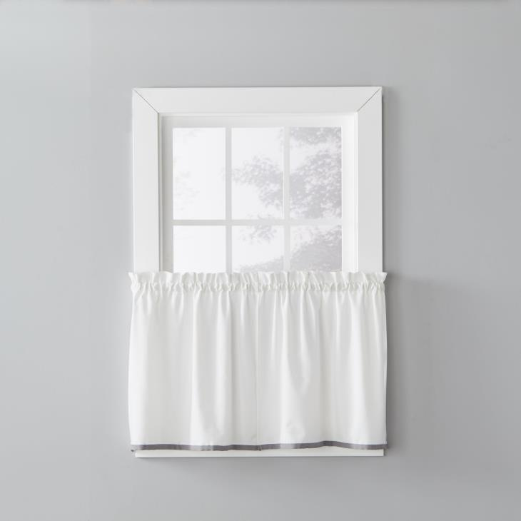 "Picture of Manor 24"" Window Tier Pair in Dove Gray"