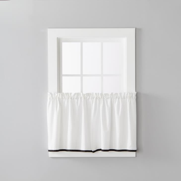 "Picture of Manor 24"" Window Tier Pair in Black"