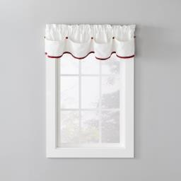 "Image of Manor 13"" Window Valance in Berry"