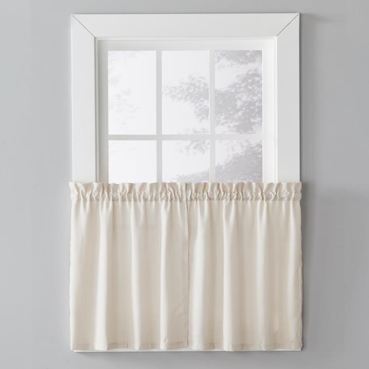 "Picture of Nelson 24"" Window Tier Pair in Linen"