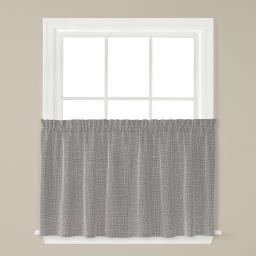 "Image of Nelson 36"" Window Tier Pair in Silver"