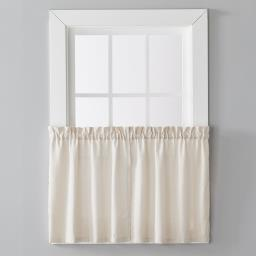 "Image of Nelson 36"" Window Tier Pair in Linen"