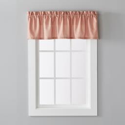 "Image of Nelson 13"" Window Valance in Rust"