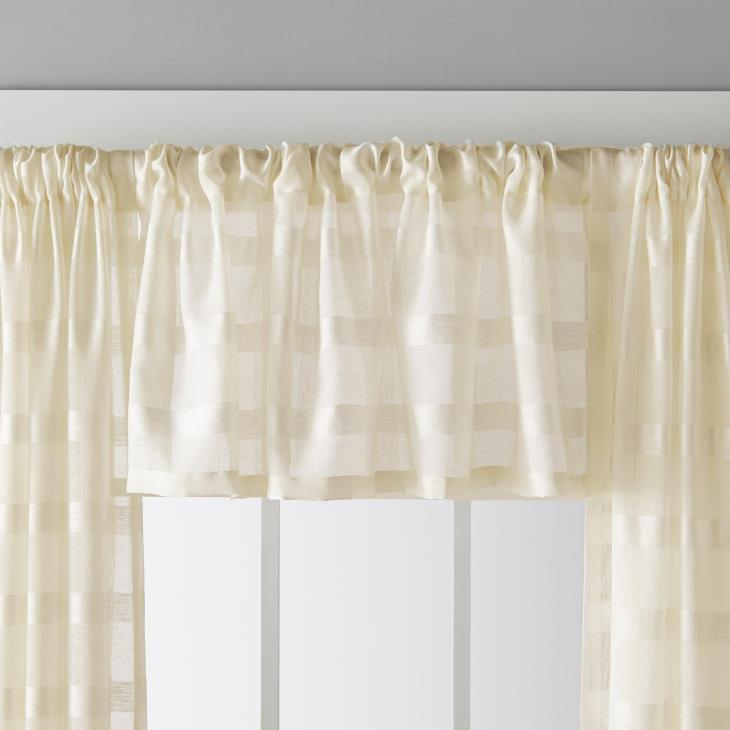 "Picture of Parkland 16"" Window Valance in Natural"