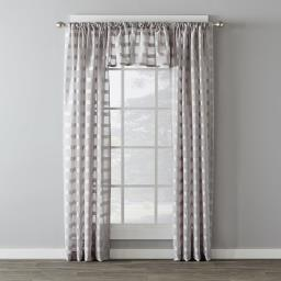 "Image of Parkland 16"" Window Valance in Dove Gray"