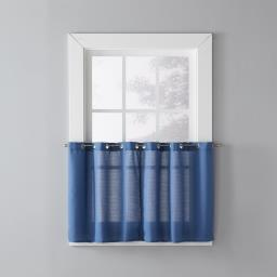 "Image of Trio 36"" Window Tier Pair in Denim"