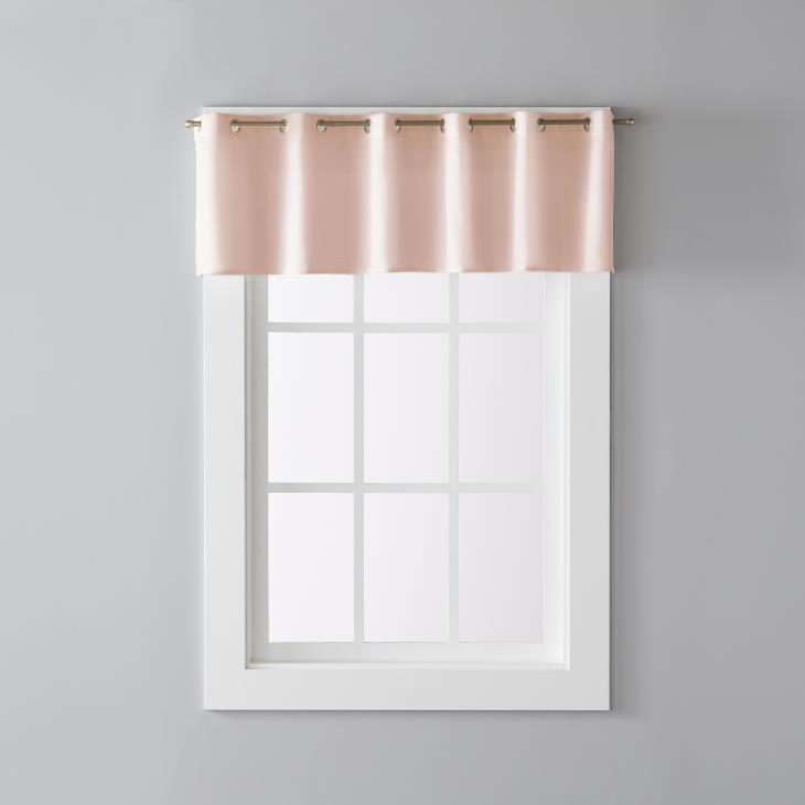 "Picture of Trio 13"" Window Valance in Blush"
