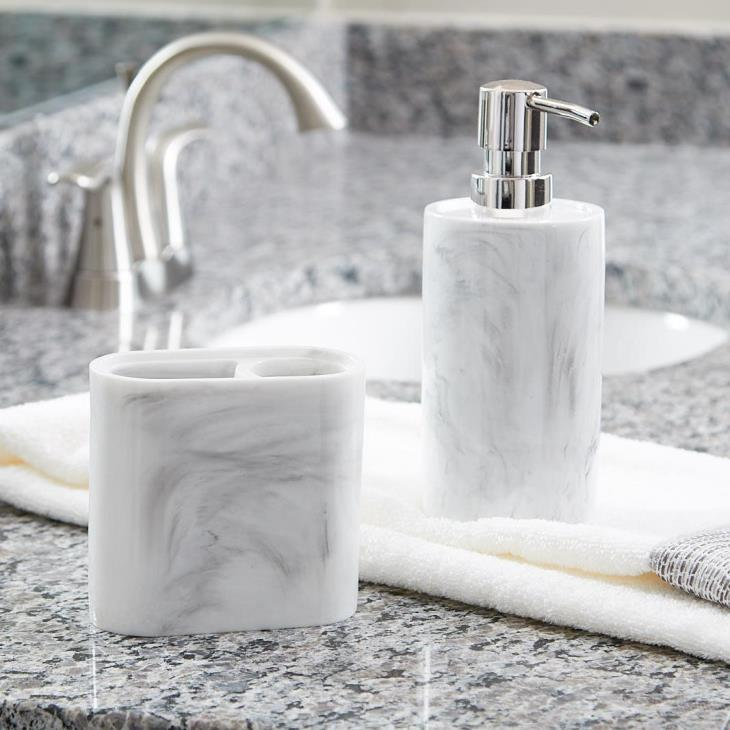 Picture of Marble Swirl Toothbrush Holder