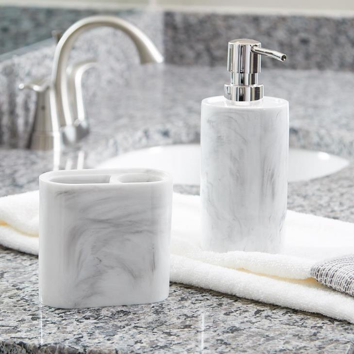 Picture of Marble Swirl Lotion/Soap Dispenser